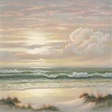 Coastal Dusk II Art Print
