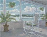 Coastal Porch I Art Print