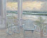 Coastal Porch II Art Print