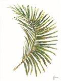 Palm Frond Vibrant Art Print