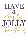Holly Jolly Christmas Art Print