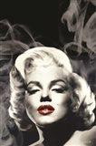 Red Lips Marilyn II Art Print