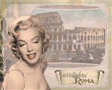 Marilyn Roma Art Print
