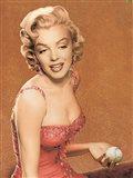 Marilyn Baseball II Art Print