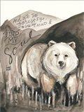 Find My Soul Bear Art Print