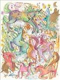 Unicorn Dance Art Print