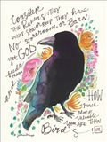 Consider the Ravens Art Print