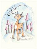 Winter's Joy Art Print
