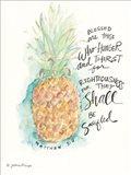 Blessed Pineapple Art Print