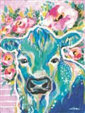 My Cow Star Art Print