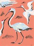 Storks II Art Print