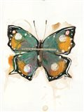 Collage Butterfly Art Print
