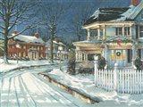 Seasonal Lights Art Print