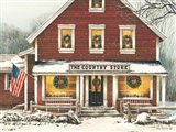 Country Christmas Art Print