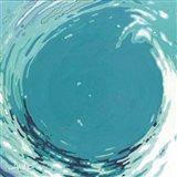 Circling Wave II Art Print