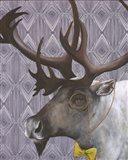 Mr. Caribou Art Print