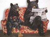 Bear-ly Present Art Print