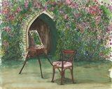 Garden Painting Art Print