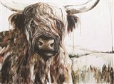 Highland in the Breeze Art Print