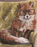 I'm so Foxie Art Print