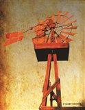Chip's Windmill I Art Print