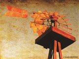 Chip's Windmill II Art Print
