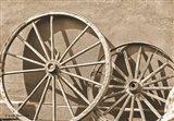 Like a Wagon Wheel Art Print