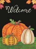 October Welcome Art Print