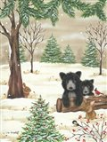 Bears & Bunnies Art Print