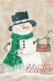 Hot Chocolate Winter Art Print