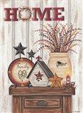 Home & Family Art Print