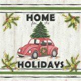 VW Holiday Art Print