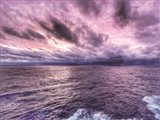 Shades of Purple Sunset Art Print