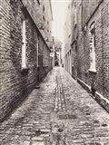 Narrow Alley Art Print