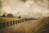 Back Road Farm Art Print