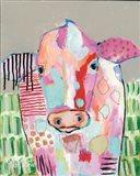 Moo Series:  Farrah Art Print