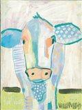 Moo Series:  Laverne Art Print