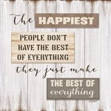 Happiest People Art Print