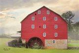 Willow Grove Mill Art Print