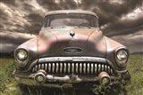 Stormy Buick Art Print