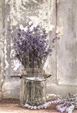 Lavender Bench Art Print
