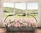 Flower Boutique Art Print