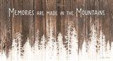 Mountain Memories Art Print