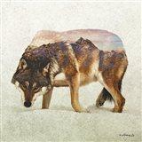 Wolf - North Art Print
