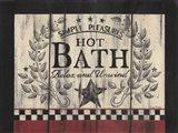 Hot Bath Art Print
