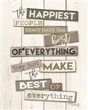 Best of Everything Art Print