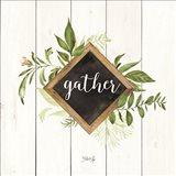 Gather Greenery Art Print