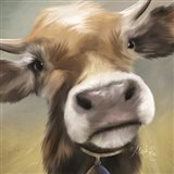 Up Close Moomoo Art Print