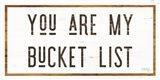 You are My Bucket List Art Print