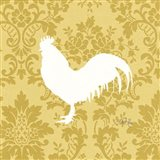 Rooster Silhouette Art Print